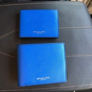 Michael Kors Billfold Leather Wallet and Passcase